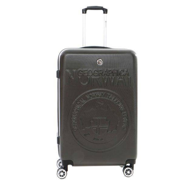 Kofer STANISLAS tamno sivi
