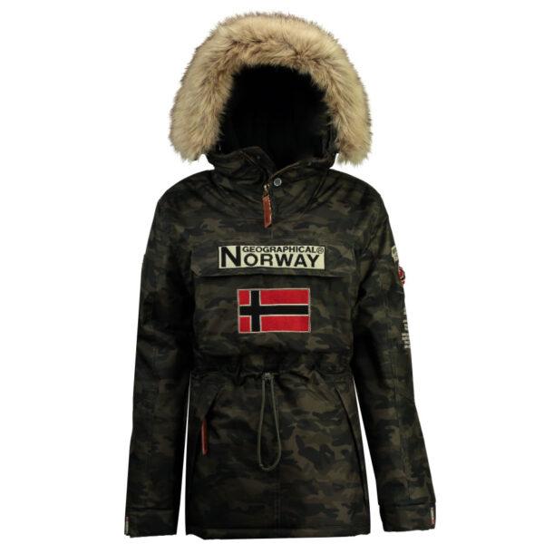 Ženska zimska jakna BRIDGET CAMO