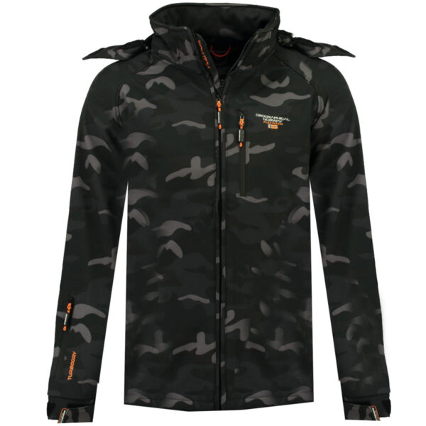 Muška softshell jakna TABOO CAMO