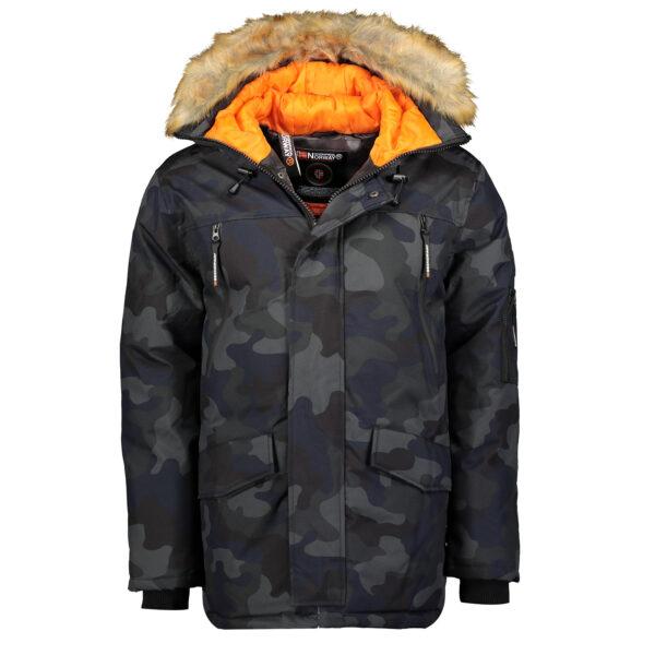 Dječja zimska jakna ARNOLD boy CAMO